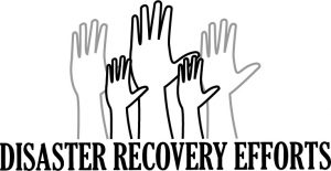 Disaster Recovery Efforts Logo
